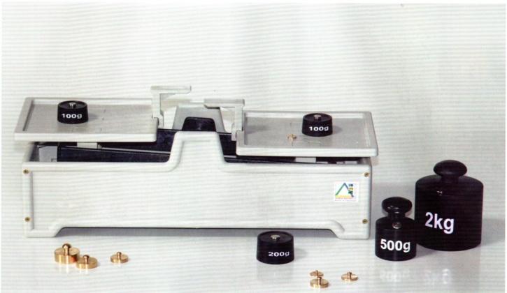 Tafelwaage 2 kg, aus glasfaser- verstärktem Kunststoff