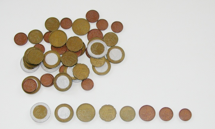 Euro-Münzen, 50 Münzen