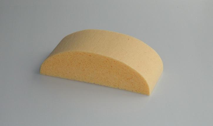 PROFI-linie Tafelschwamm aus Viskose II, 19x8,5x6 cm, halbrund