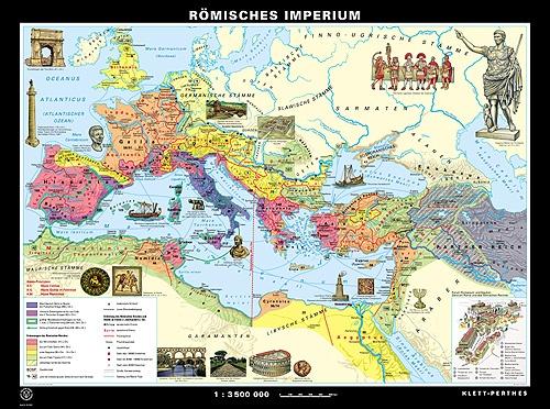 Wandkarte Römisches Imperium