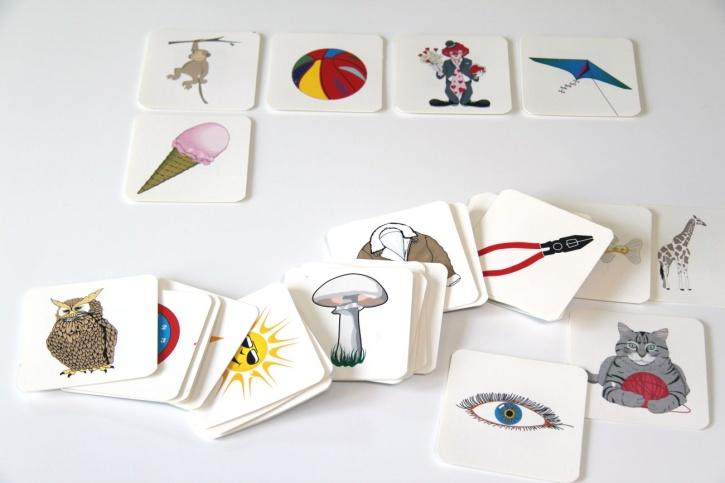Magnetische Bildkarten
