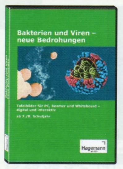 Interaktive Tafelbilder Bakterien und Viren, Schullizenz