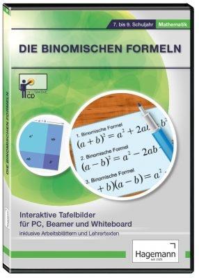 Interaktive Tafelbilder Binomische Formeln, Verleihlizenz