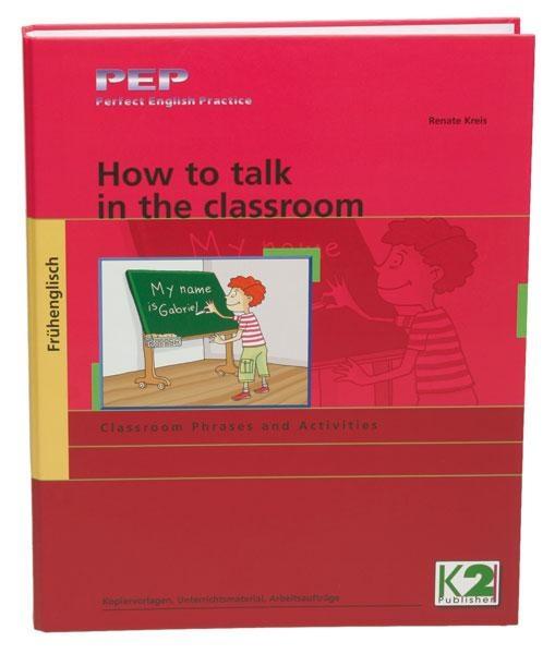 How to talk in the classroom Arbeitsmaterial, Frühenglisch