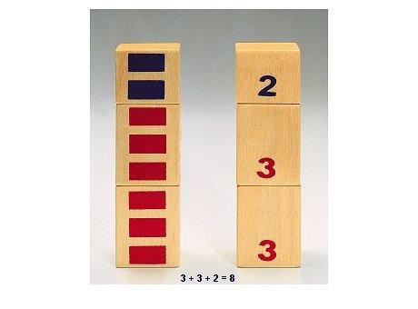 Nikitin Material, N6, Zahlen-Türme