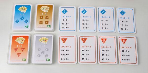 MiniCalcula Division Set, Quartette 5-8