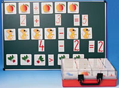 Mathematik in Bildern für den Zahlenraum 1 - 20