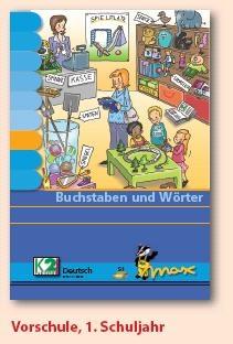Max Lernkarten,  Buchstaben und Wörter