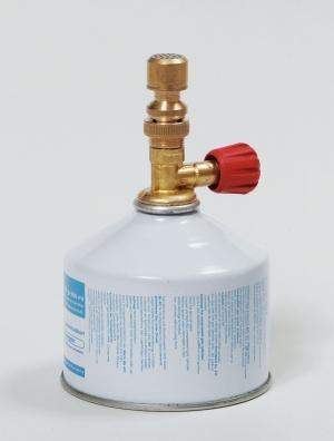 Bunsenbrenner mit Ventil-Gaskartusche