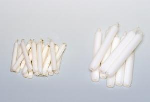 Kerzen, 180 x 22 mm, 8 Stück