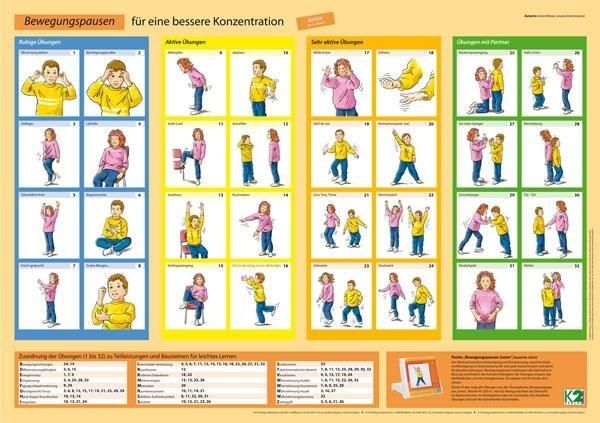 Poster Bewegungspausen Junior