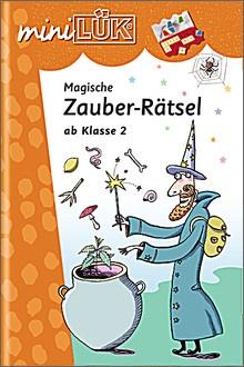 mini-Lük Heft Magische Zauberrätsel