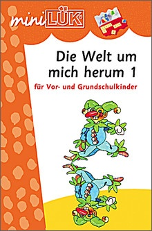 mini-Lük Heft Die Welt um mich herum 1