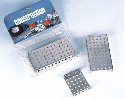 Ergänzungsbeutel C107, Platten, abgewinkelt