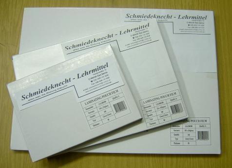 Laminiertaschen / Laminierfolien A4, glänzend, 2x80mic, 100 Stück