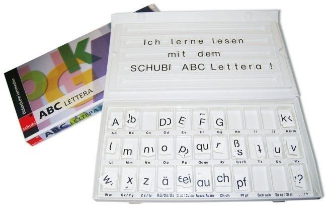 ABC-Box, komplett mit Buchstaben