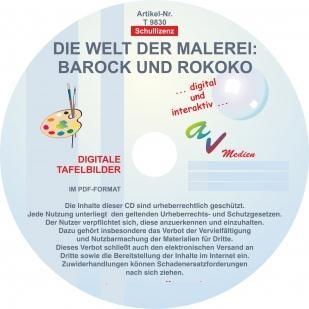Digitale Folien auf CD - Barock und Rokoko