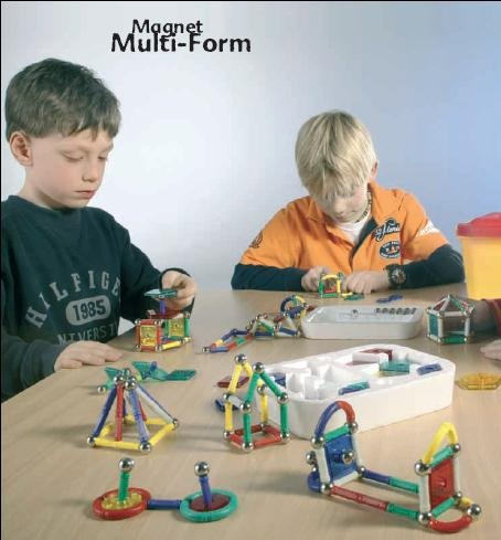 Magnet Multi-Form 350, Box mit 350  Teilen