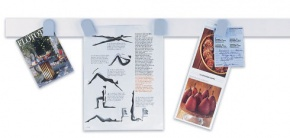 magnetowand®, weisses Leistenset 10 Stück à 50 cm lang, 5 cm bre