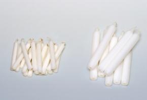 Kerzen, 100 x 13 mm, 20 Stück