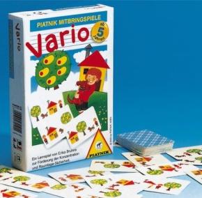 Vario, Ein unterhaltsames Lernspiel zur Förderung der Konzentrat