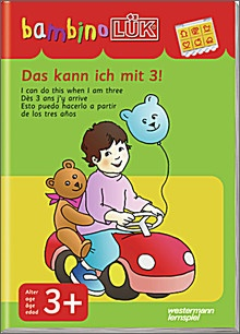 bambinoLük-Heft Das kann ich mit 3!