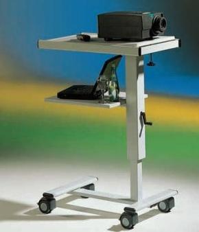 LCD-Projektionswagen DV20, stufenlos höhenverstellbar
