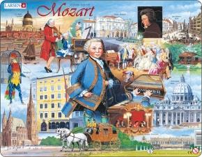 Puzzle - Mozart, Bilder eines großen Komponisten, Format 36,5x28