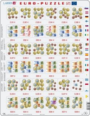 Puzzle - Euro-Rechenspiel 2, Format 36,5x28,5 cm, Teile 36